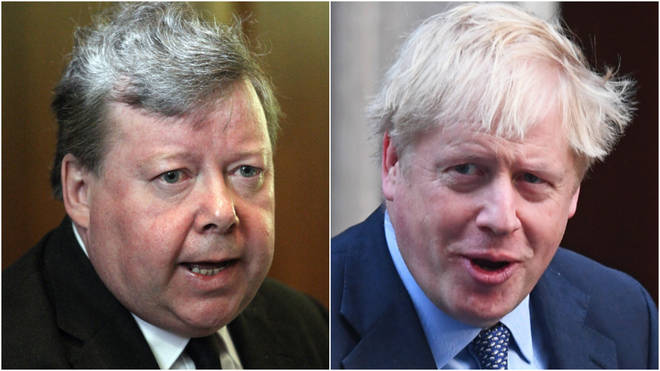Judges are set to determine whether Mr Johnson acted in contempt of court