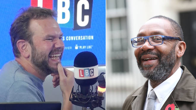 James O'Brien spoke to Lenny Henry