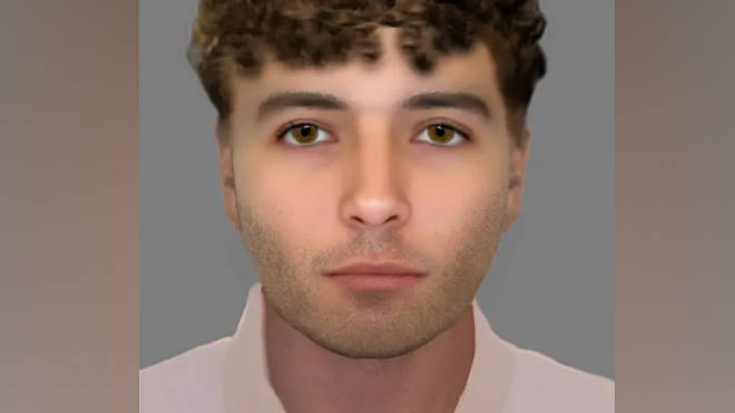 Police issued an e-fit of a suspect they want to trace