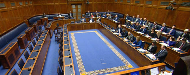 MLPs from multiple Northern Irish parties stormed out of the chamber