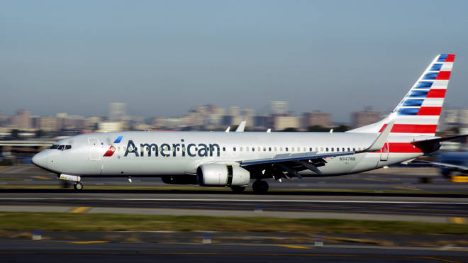 An American airlines flight has been forced to make an emergency landing after a reported chemical spill on board