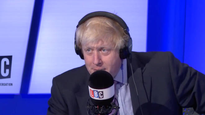 Boris Johnson on LBC in 2015