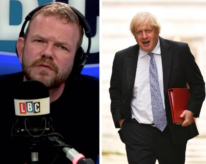 James O'Brien, Boris Johnson