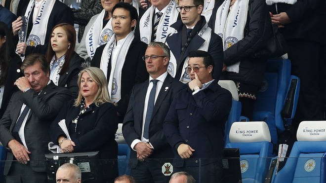 """Vichai&squot;s son said the recognition of his father was """"a proud moment"""""""