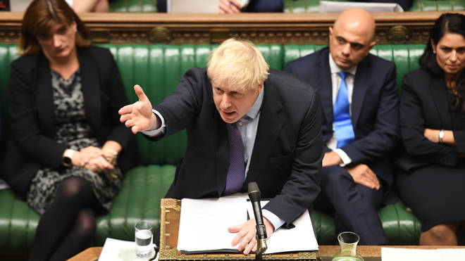 Boris Johnson has won a key vote in the House of Commons