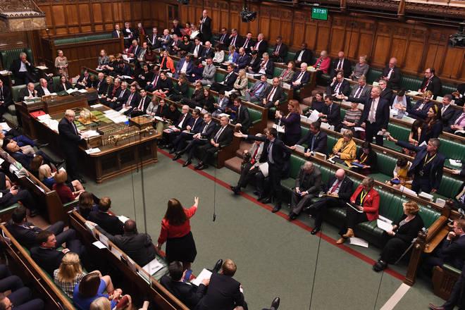 MPs have blocked Boris Johnson's three-day timescale