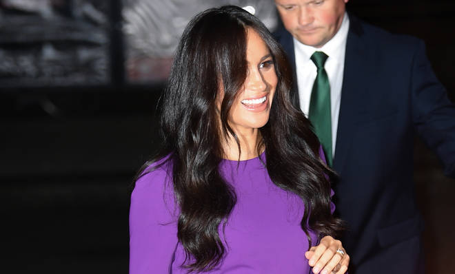 Meghan Markle attending One Young World Summit Opening Ceremony at the Royal Albert Hall