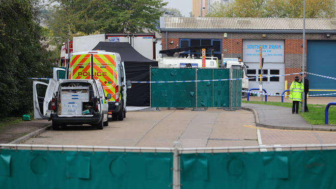 The lorry was found in Waterglade Industrial Park