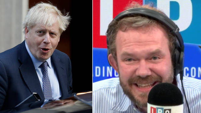 James O'Brien found this caller's insult hilarious