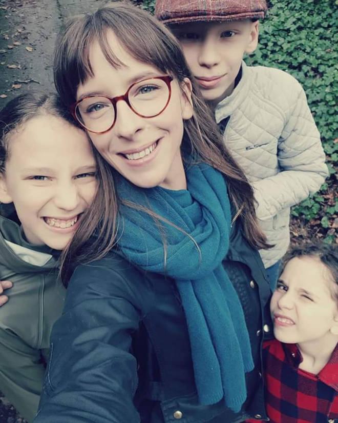 Amanda and her three children were travelling from Cheltenham to Nottingham