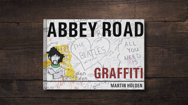 Martin Holden took photos of the Abbey Road graffiti for 12 years