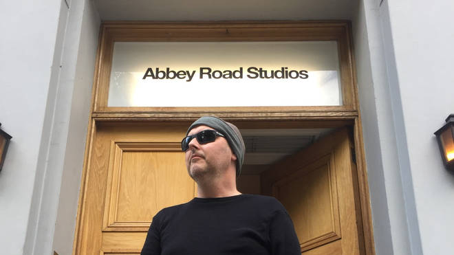 Martin visited Abbey Road Studios before his death in August