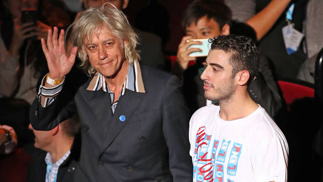 Bob Geldof has been speaking at the annual One Young World summit