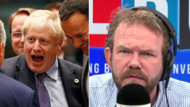 James O'Brien's caller tried to defend Boris Johnson