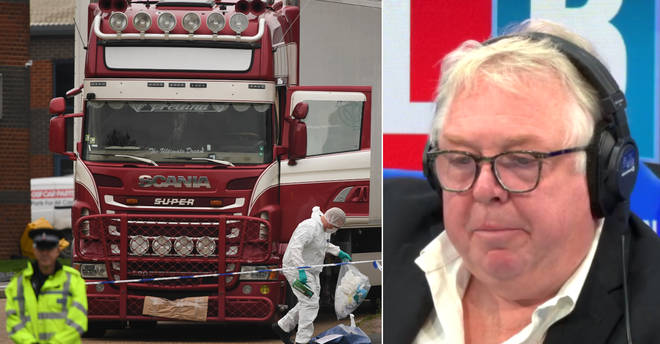 Nick Ferrari heard some powerful stories from listeners who came the UK in the back of a lorry