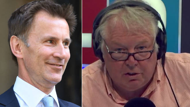 Nick Ferrari and Jeremy Hunt