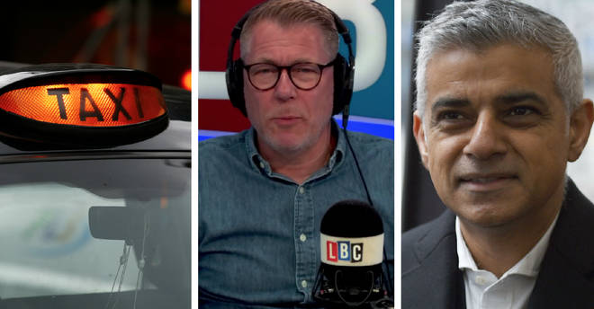 A London taxi driver ripped into Sadiq Khan's handling of violent crime