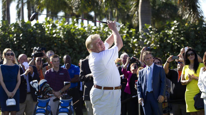 One of Trump's golf courses is set to have its licence revoked