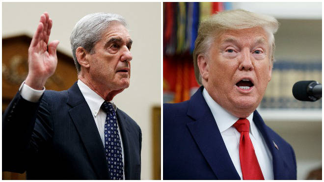 The US Justice Department is treating the Russia probe as a criminal investigation