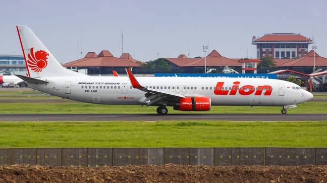 File photo: A Lion Air plane at Jakarta airport