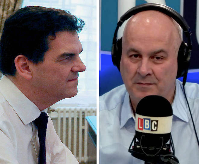 Iain Dale laid into Olly Robbins on Thursday
