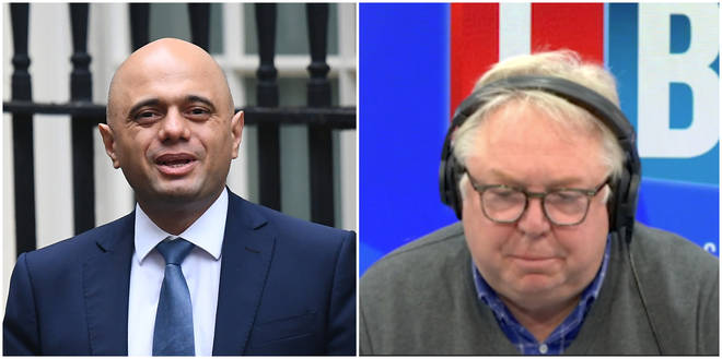 Sajid Javid Repeatedly Refuses To Rule Out Government Strike To Nick Ferrari
