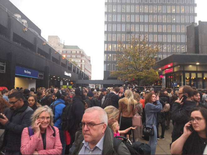 Trains to and from London Euston have been suspended