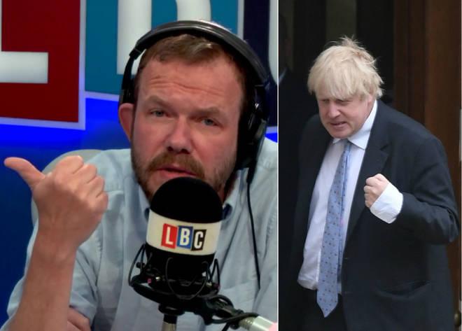 James O'Brien didn't hold back on Boris Johnson