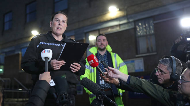 Deputy Chief Constable Pippa Mills gives an update on the lorry deaths yesterday