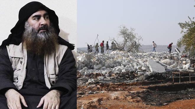 Abu Bakr al-Baghdadi killed himself and three of his children during a US raid