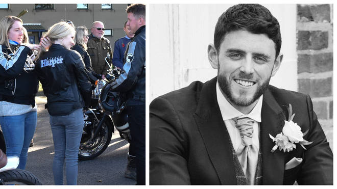 Pc Andrew Harper's wife lead thousands in a ride for her husband