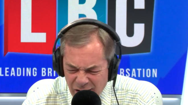 Caller Accuses Nigel Farage Of Being A Remainer, Leaving Him Gobsmacked