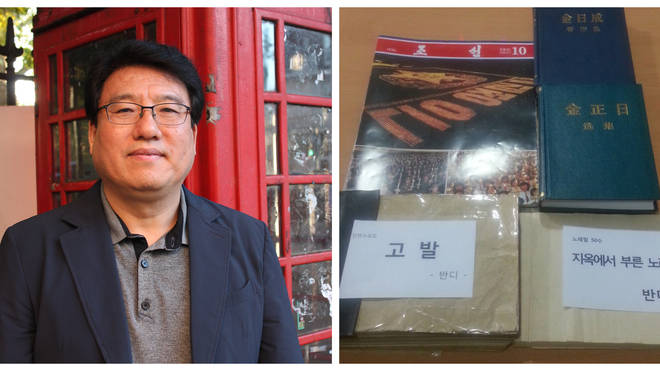 Do Hee-Yun, a human rights activist from South Korea, has told of how a manuscript was smuggled out of North Korea