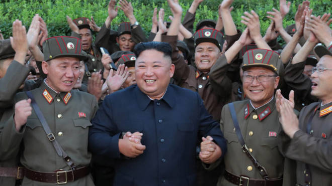 Kim Jong-Un currently sits at the helm of the totalitarian regime