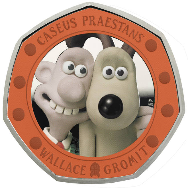 Wallace & Gromit 30th anniversary coin