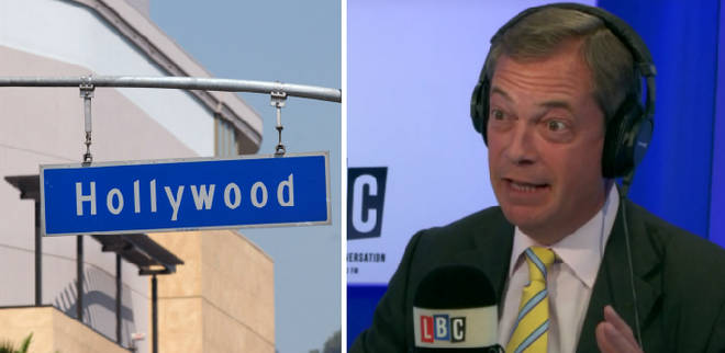 Is Nigel Farage heading to Hollywood?
