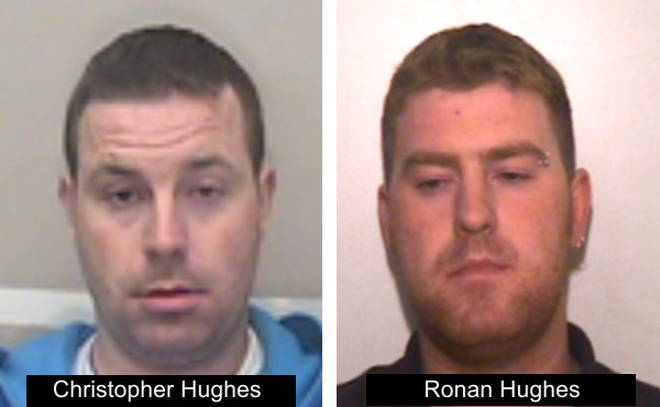 Ronan and Christopher Hughes are wanted in connection with the 39 lorry deaths