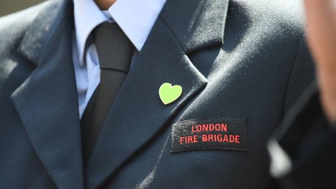 London Fire Brigade was grateful for the apology