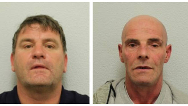 Glen Appleby and Marc Warner were jailed for attempting to smuggle class A drugs