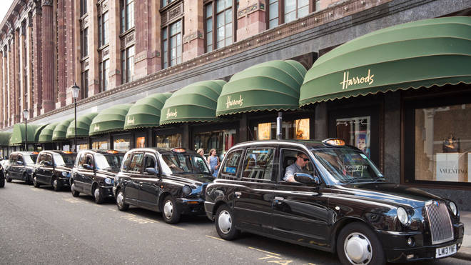 The men attempted to smuggle the drugs out of Harrods
