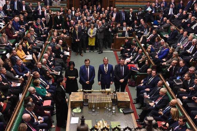 The Commons has voted for an early General Election