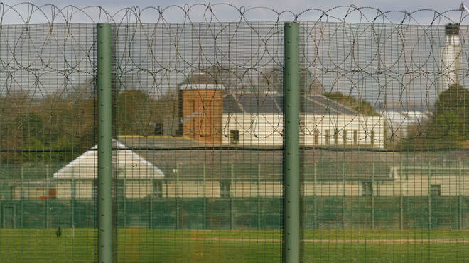 The Haslar Immigration Removal Centre in Hampshire