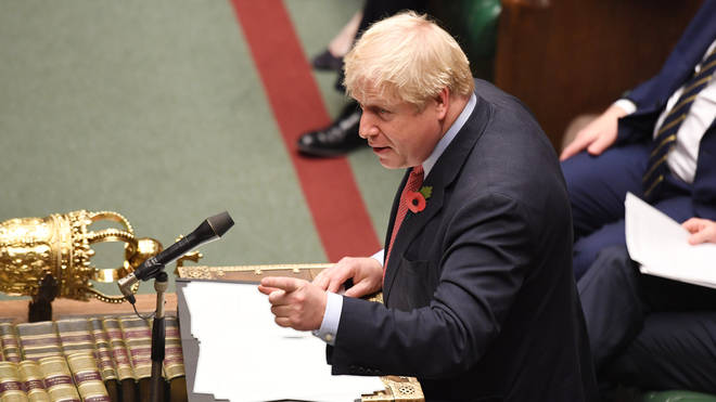 Boris Johnson had said he is the only leader who can deliver Brexit