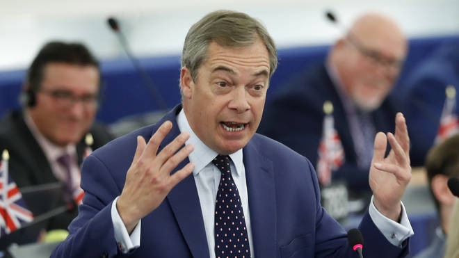 Nigel Farage's key promise is delivering Brexit