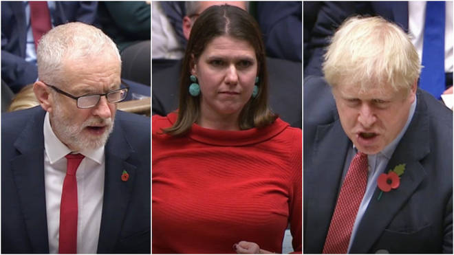 Each party is offering a different choice on Brexit if they get the largest majority in the election
