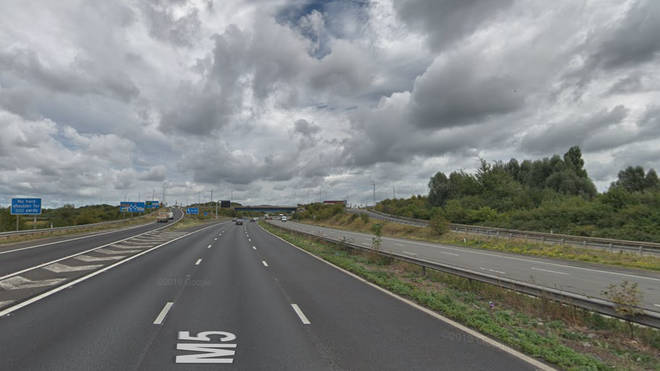 Parts of the M5 are closed