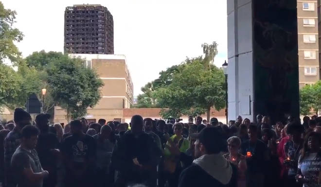 This local gave an inspirational speech to the people marching for Justice for Grenfell residents