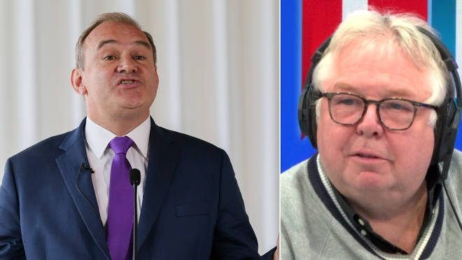 Nick Ferrari spoke to Ed Davey about the upcoming election