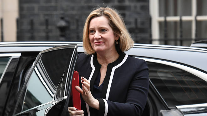 Amber Rudd has announced she is resigning
