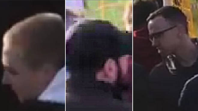 Police want to identify these three men